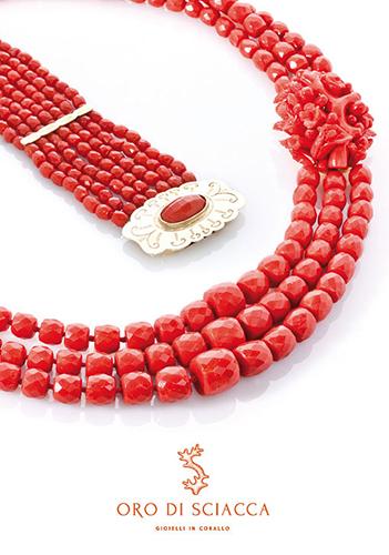 in vendita bd6c5 35bfc Oro di Sciacca - Gioielli in corallo dalla lavorazione dei ...