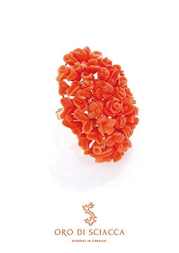 gioielli in corallo